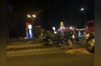 Dachowanie na wjeździe do Sopotu