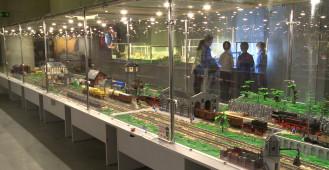Miliony klocków lego na PGE Arenie