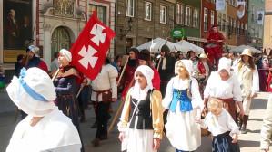 Święto Gdańska: miasteczko rycerskie i parada na Długiej