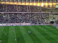 Piłkarze Lechii motywujący się przed ...
