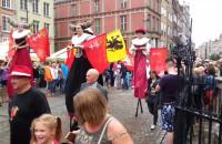 Parada na rozpoczęcie jarmarku 2015