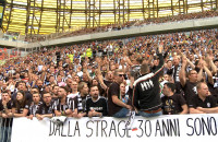 Atmosfera podczas meczu Lechia - Juventus