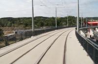 Przejazd nową trasą tramwajową na Morenę