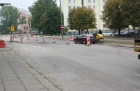 Kierowcy jeżdżą pod prąd remontowaną ul. Kołobrzeską