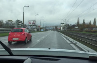 Jazda ul. Jana z Kolna z prędkością 50 km/h
