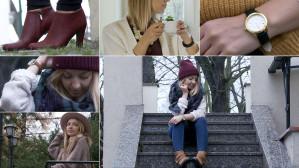 Jesienne stylizacje ze swetrem w roli głównej