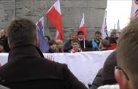 """Marsz """"Nie dla imigrantów"""" 22 listopada 2015"""