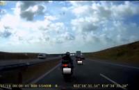 Stop agresji drogowej: motocyklowa blokada
