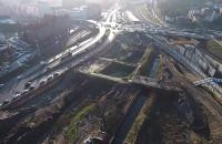Budowa Forum Gdańsk z lotu ptaka - grudzień 2015
