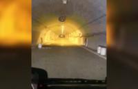 Przejazd przez tunel pod Martwą Wisłą
