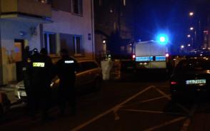 Działania policjantów po strzelaninie przy ul. Górnej w Gdyni