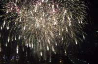 Sylwester - fajerwerki w Gdyni