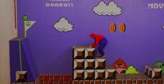 Przejdź Mario w lewo... w Gdańsku!