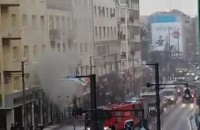 Pożar w Gdyni ul. Świętojańska, 20.01.2016
