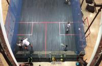 Szklany kort do squasha w Galerii Bałtyckiej