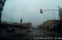 Mgła i zero korków na drogach