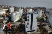 Wysoka zabudowa z widokiem na morze w Gdyni