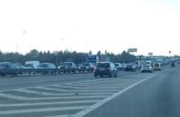 Gigantyczny korek na obwodnicy - Matarnia kier. Gdynia