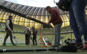 Niemiecka telewizja nagrywa Galileo na Stadionie Energa Gdańsk