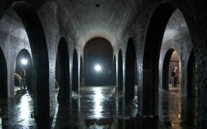 "Wnętrza zbiornika ""Stara Orunia"""