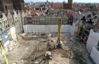 Pusty plac po kinie Neptun w Gdańsku