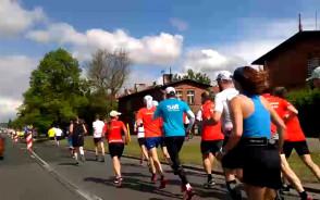 Tak dziś maratończycy biegali po Gdańsku