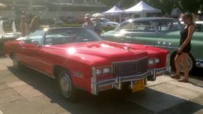 Wystawa amerykańskich aut w Sopocie