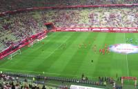 Kibice witają reprezentantów Polski