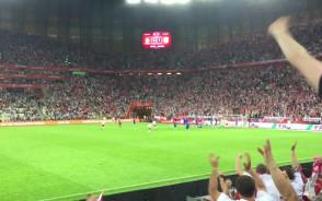 Bramka na 1:1 w meczu Polska-Holandia