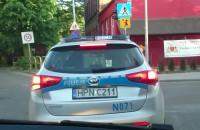 Policja na zakazie skręca w lewo