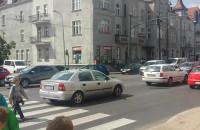 Wyłączona sygnalizacja świetlna w Sopocie