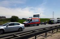 Wypadek droga S6 w kierunku Gdyni
