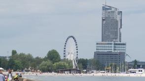 Co widać z koła widokowego w Gdyni?