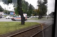Korek przy Placu Zebrań Ludowych