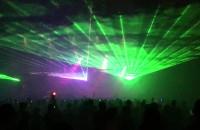 Pokaz laserów i fajerwerków w Noc Świętojańską