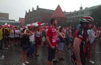 Leje w Strefie Kibica w czasie meczu ze Szwajcarią