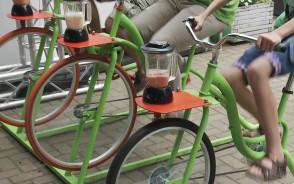 Zmiksuj koktajl za pomocą roweru