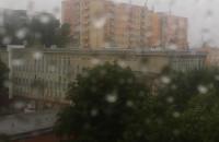 Deszcz i burza na Wrzeszczu dolnym !!