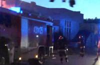 Strażacy na ulicy Narcyzowej