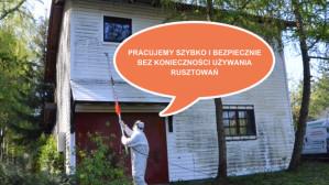 Mycie i impregnacja fasad budynków