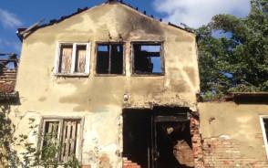 Skutki pożaru w Oliwie