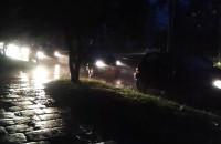 Chaos na zalanej ul. Olsztyńskiej w Gdańsku...