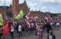 Uczestnicy Światowych Dni Młodzieży na ulicach Gdańska