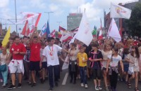 Rzeka młodzieży z całego świata na ulicach Gdańska