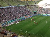Lechia - Wisła, gol F.Paixao na 1:0