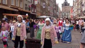 Parada z okazji otwarcia Jarmarku św. Dominika