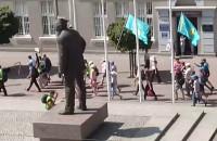 Pielgrzymi na ulicach Gdyni