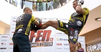Trening przed Fight Exclusive Night 13