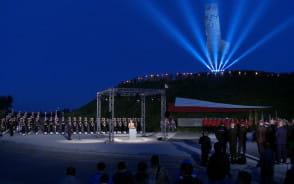 Poranne obchody rocznicy wybuchu II wojny światowej na Westerplatte