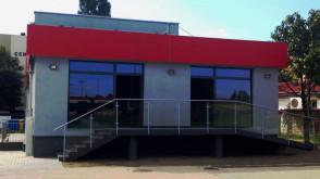 Nowy pawilon przy Cieszyńskiego
